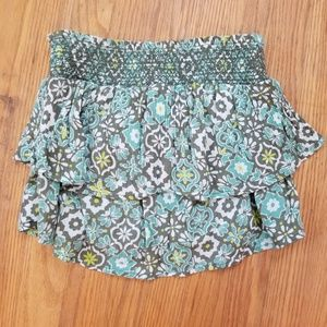 Patterned tube top
